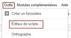 web scraping -  Editeur de scripts