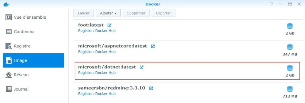 Section image - Docker